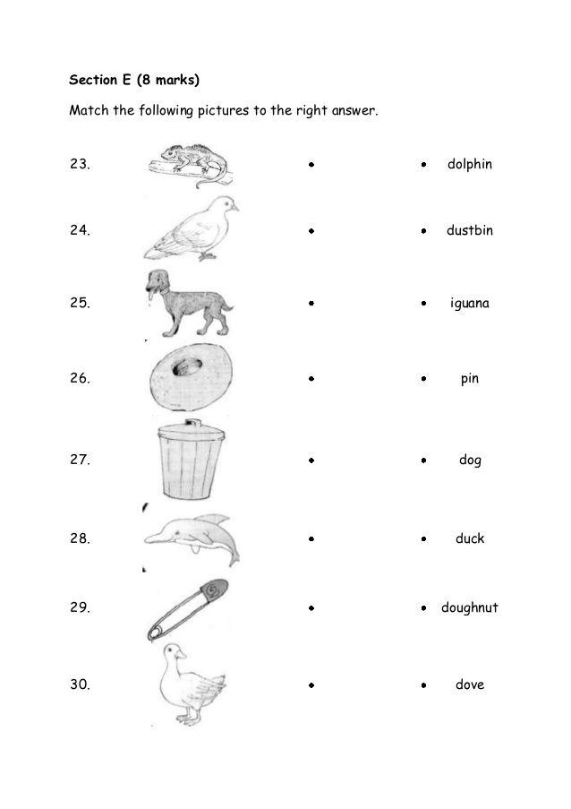 Baru Kertas Soalan Bi Tahun 1 English Exam Papers 1st Grade Math Worksheets Kindergarten Worksheets