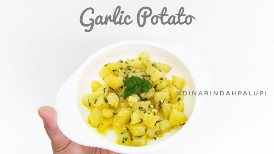 Pin On Garlic Potato