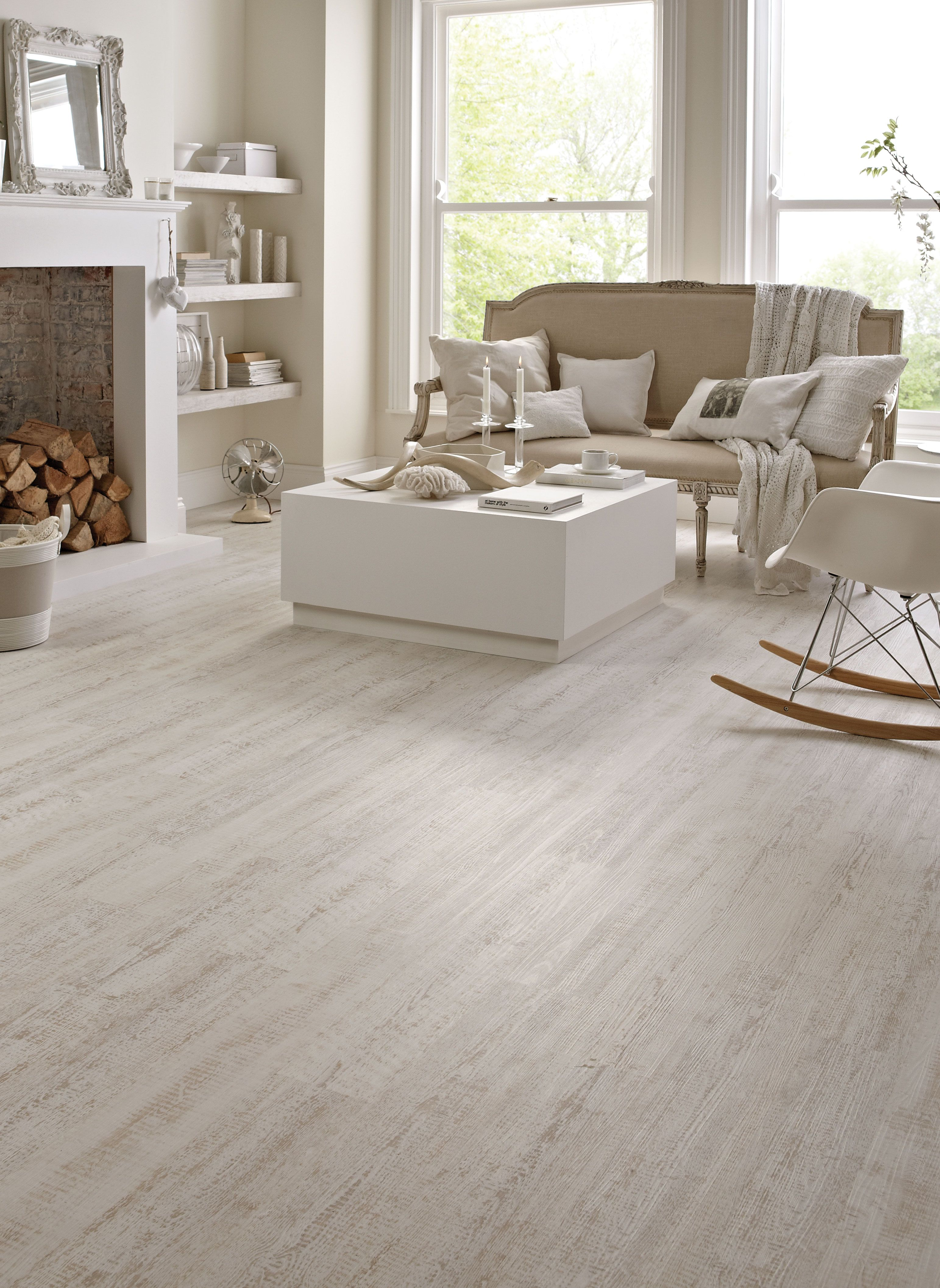 Karndean wood flooring white painted oak by for Bedroom flooring options