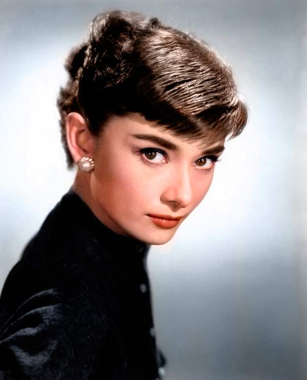 Actress Audrey Hepburn. | These 17 Historic Photos With Colour Added Are Incredible Absolutely gorgeous!