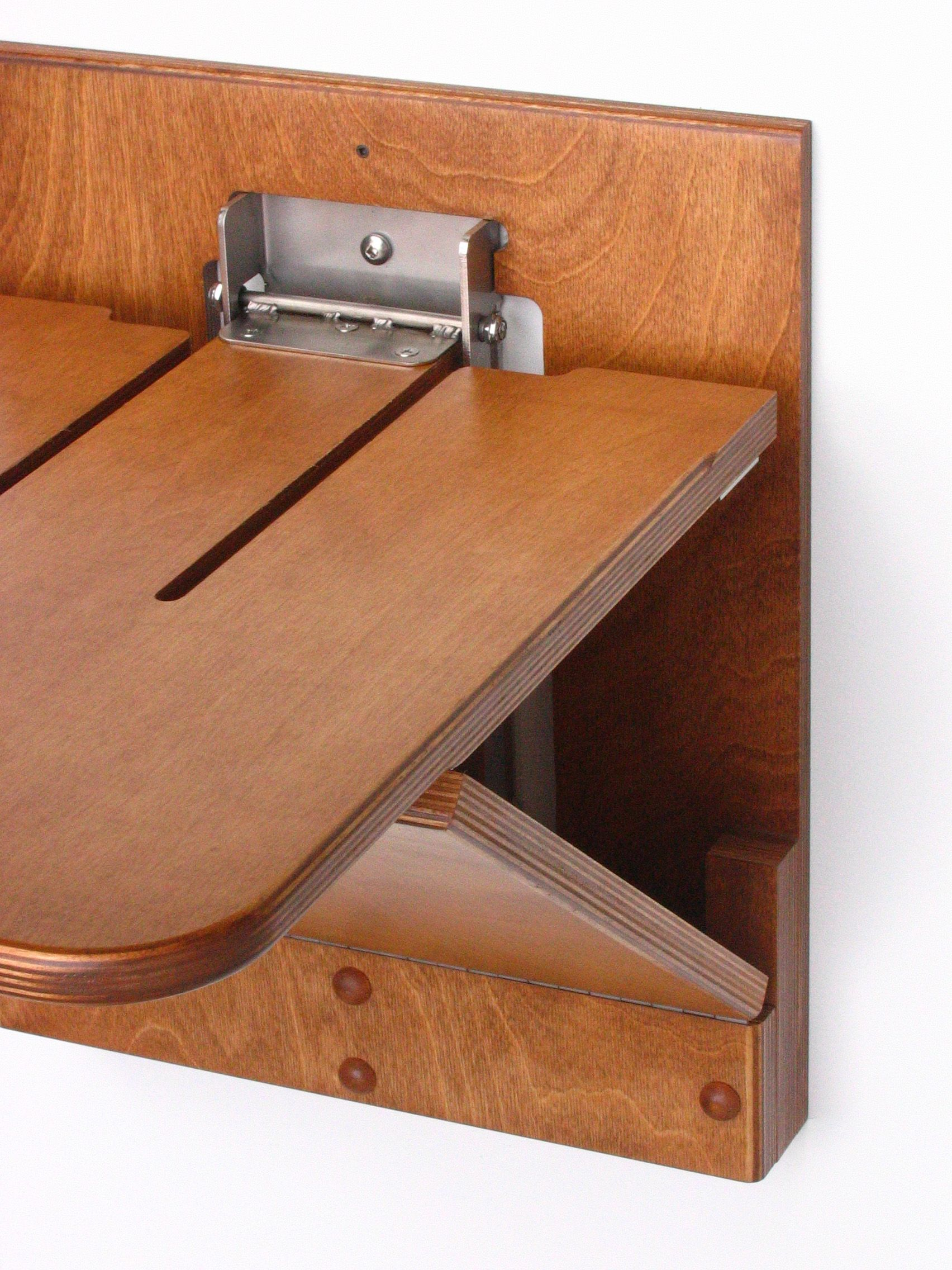 Wall mounted flip up seat for mudroom wallchair Connecticut Closets Pinterest