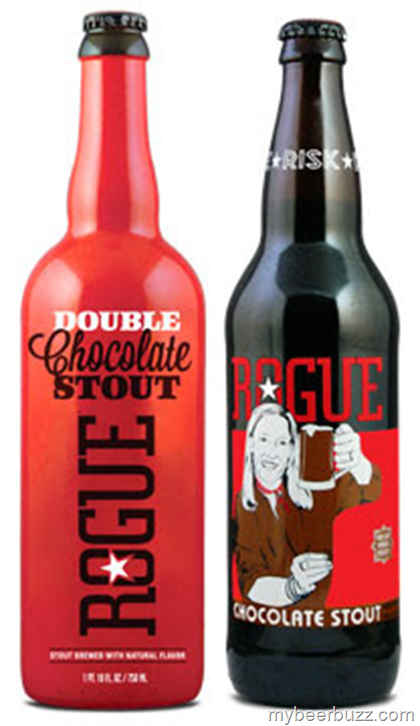 Show Some Love With Rogue Chocolate & Double Chocolate Stout w/Special Valentine's Labels