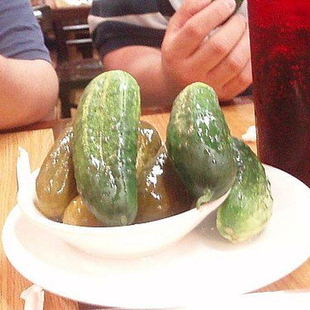 half sour pickles | Sour pickles, Half sour pickles ...