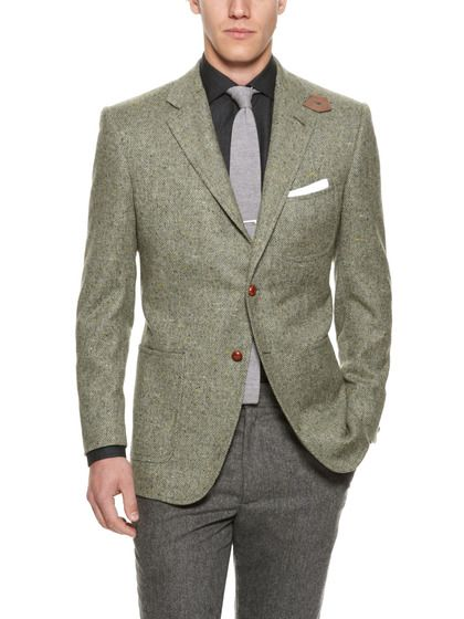Marled Sportcoat by Martin Greenfield on Gilt.com