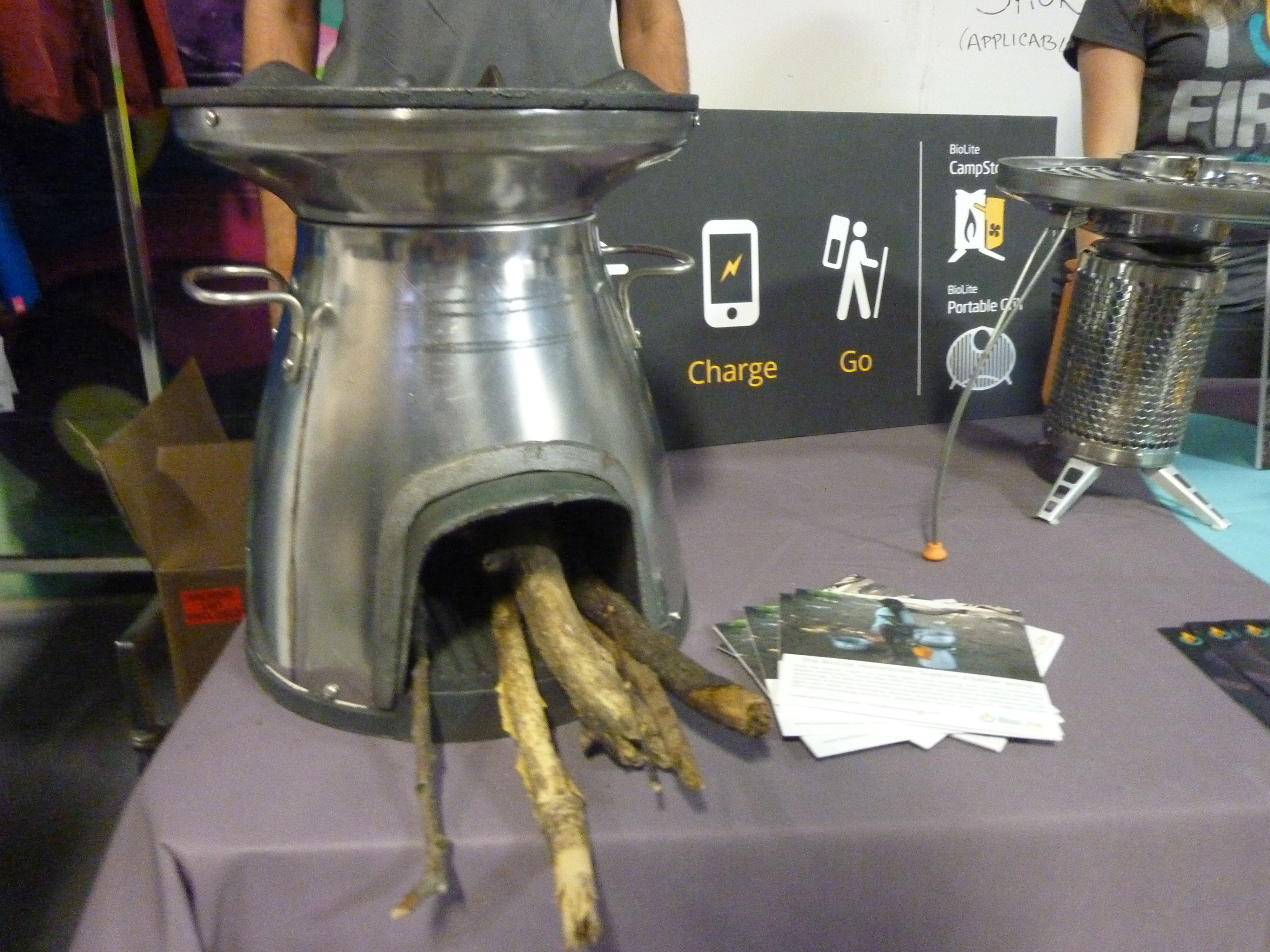 Our HomeStove made an appearance at Brooklyn Boulders last night