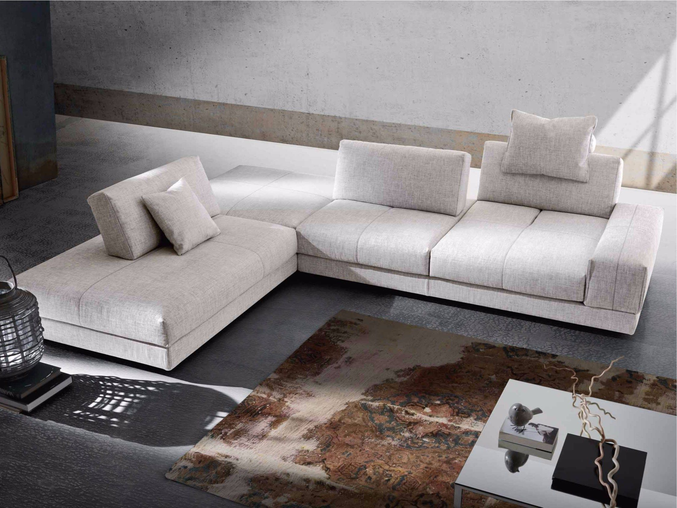 Corner convertible sofa OPEN SPACE by GURIAN design Zeno Nugari