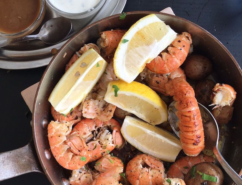 icelandic sauteed langoustines recipe yum pinterest dinners dishes and recipes