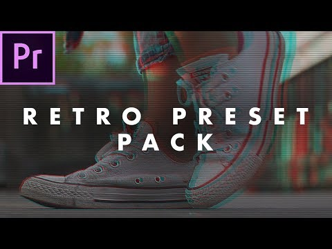 46 Free Retro Look Preset Pack For Adobe Premiere Pro How To Use Easy Tutorial Youtube Premiere Pro Tutorials Adobe Premiere Pro Premiere Pro
