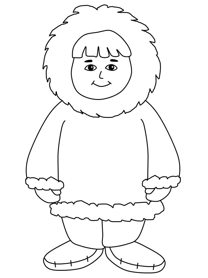 Eskimo Coloring Pages Printable Coloring Pages With Images