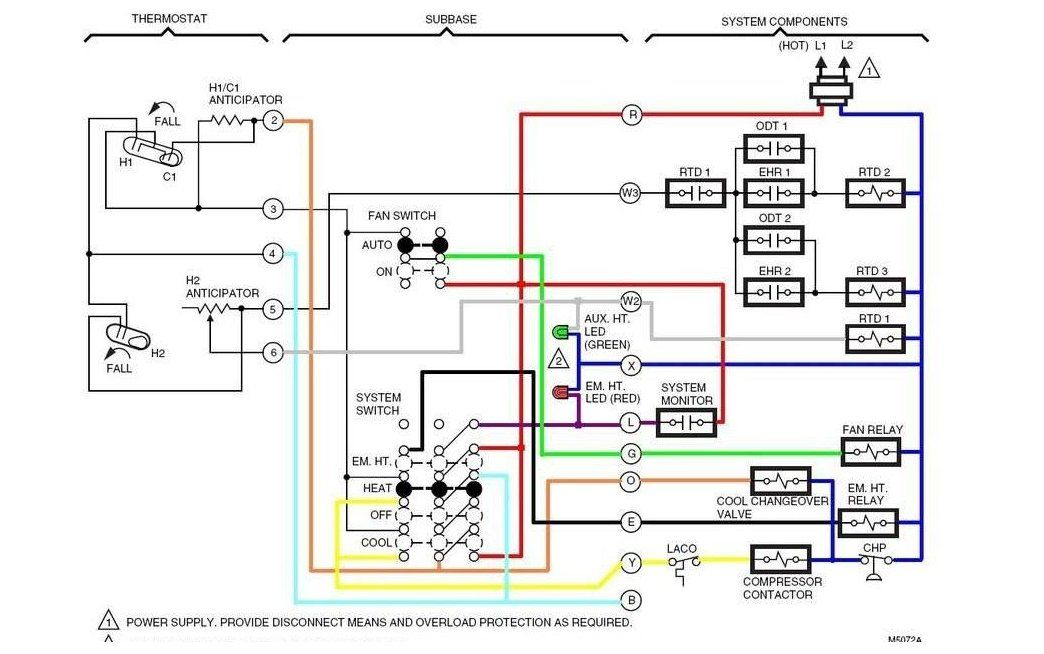 Honeywell Thermostat Wiring Diagram 3 Wire from i.pinimg.com