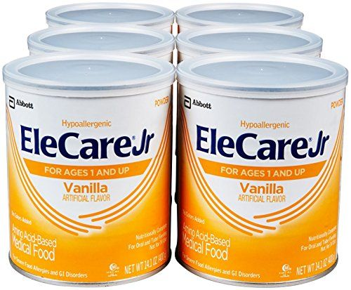 EleCare Jr Toddler Formula-Vanilla-Powder-14.1 Ounces-6 Pack