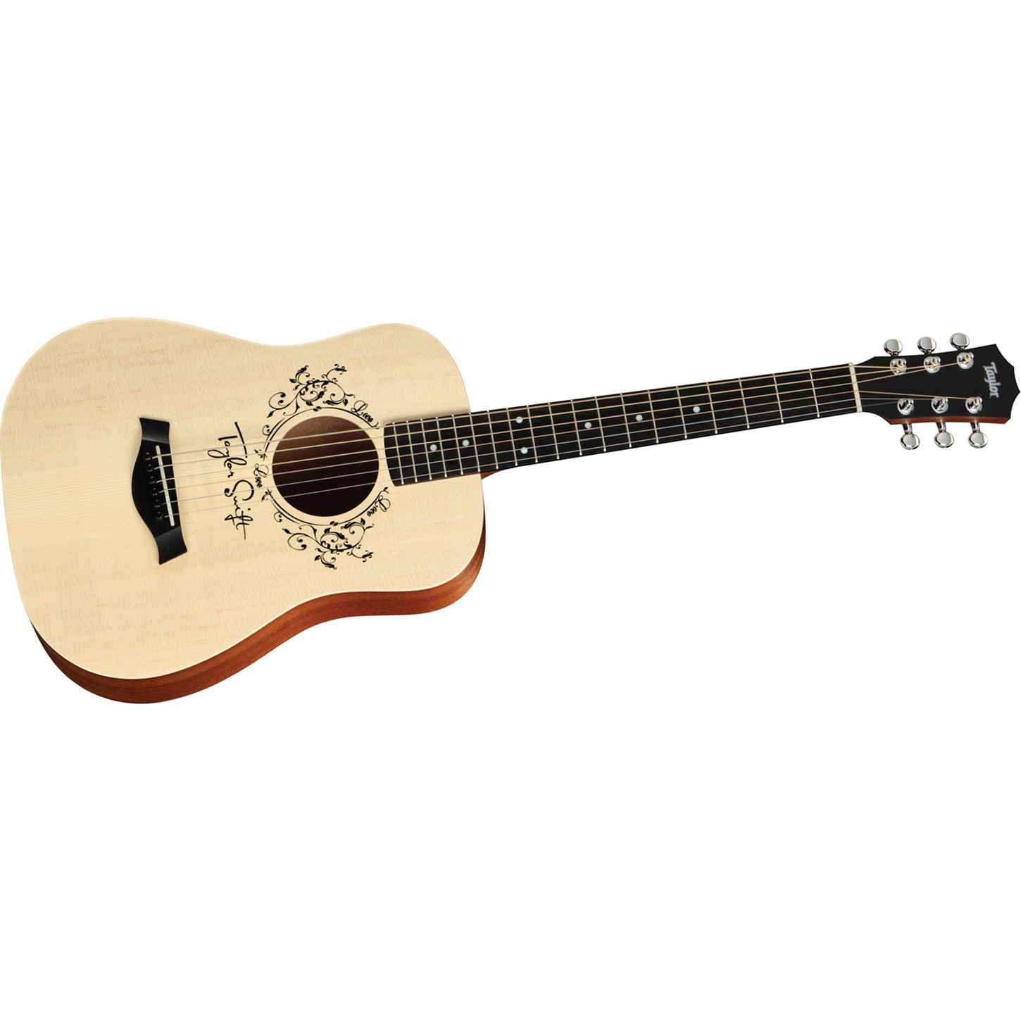 Taylor Taylor Swift Signature Acoustic Guitar Natural 3 4 Size Dreadnought
