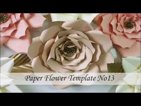 How to make paper flower youtube paper flowers pinterest how to make paper flower youtube mightylinksfo
