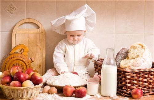 Cute White MasterChef Baby