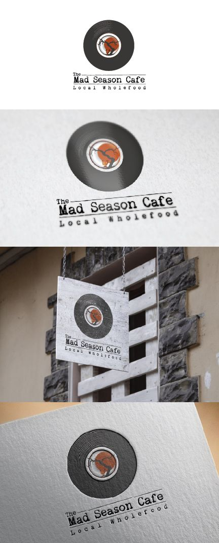 Wholefood local Cafe needs a logo Personable, Traditional Logo Design by debdesign
