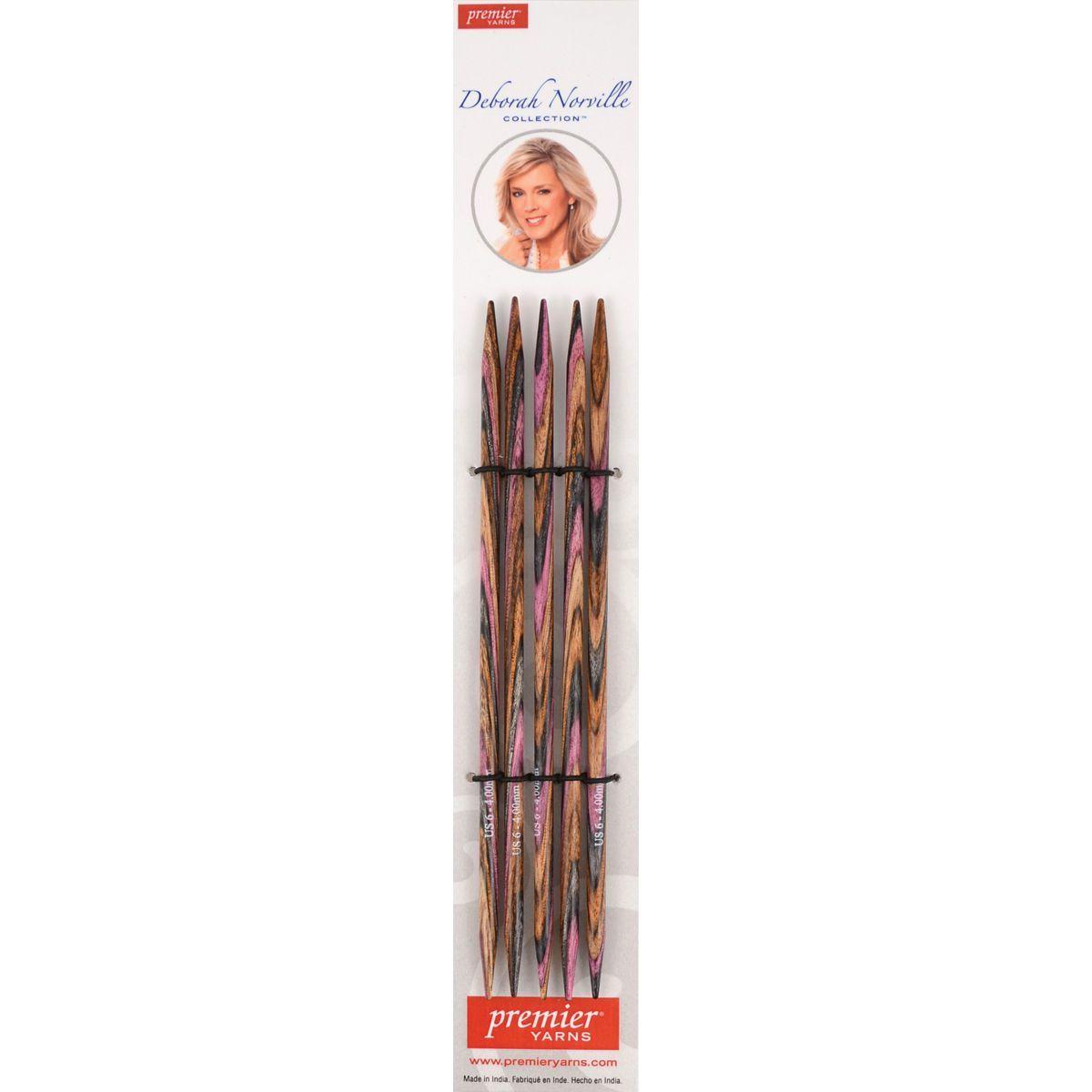 "Deborah Norville Double Pointed Needles 6""-Size 10.5/6.5mm"