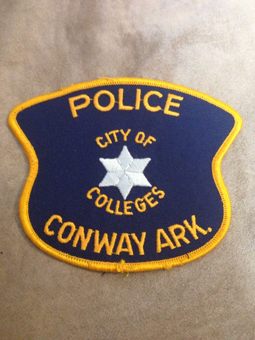 Conway Police Department Police Patches Police Department Police