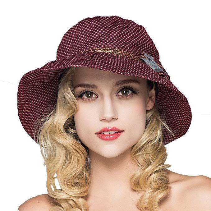 Maitose Women s Wide Brim Summer Beach Sun Hat Review a9ef3e4e8502