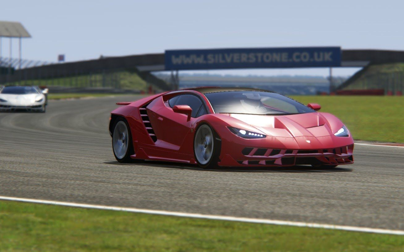 assetto corsa 2017 lamborghini centenario at silverstone. Black Bedroom Furniture Sets. Home Design Ideas