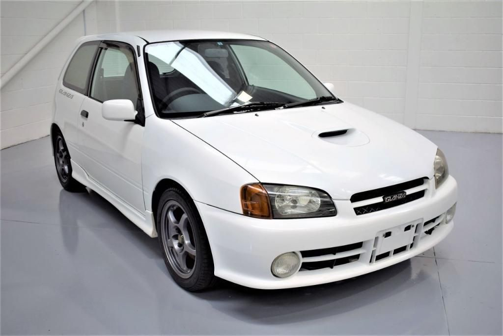 1996 Toyota Starlet Glanza V 1 3 Turbo 2 Door Hatchback Vehiculos Coches