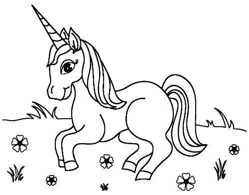 Pagina Para Colorear Unicornio Para Drawing Board Weekly Dibujos