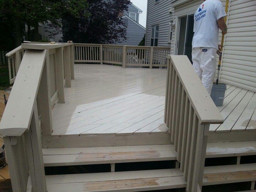 Summerhouse Beige On Decking