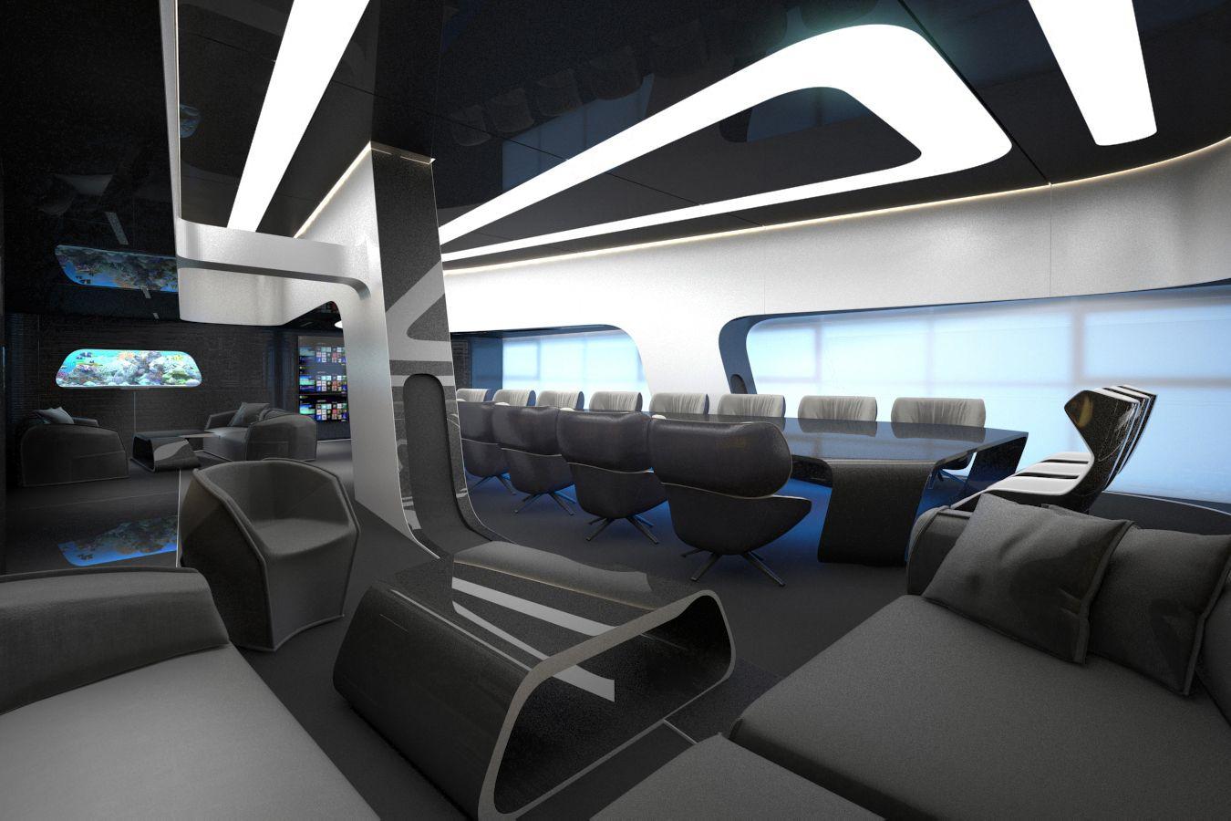 L&S MEETING ROOM | Futuristic interior, Futuristic ...