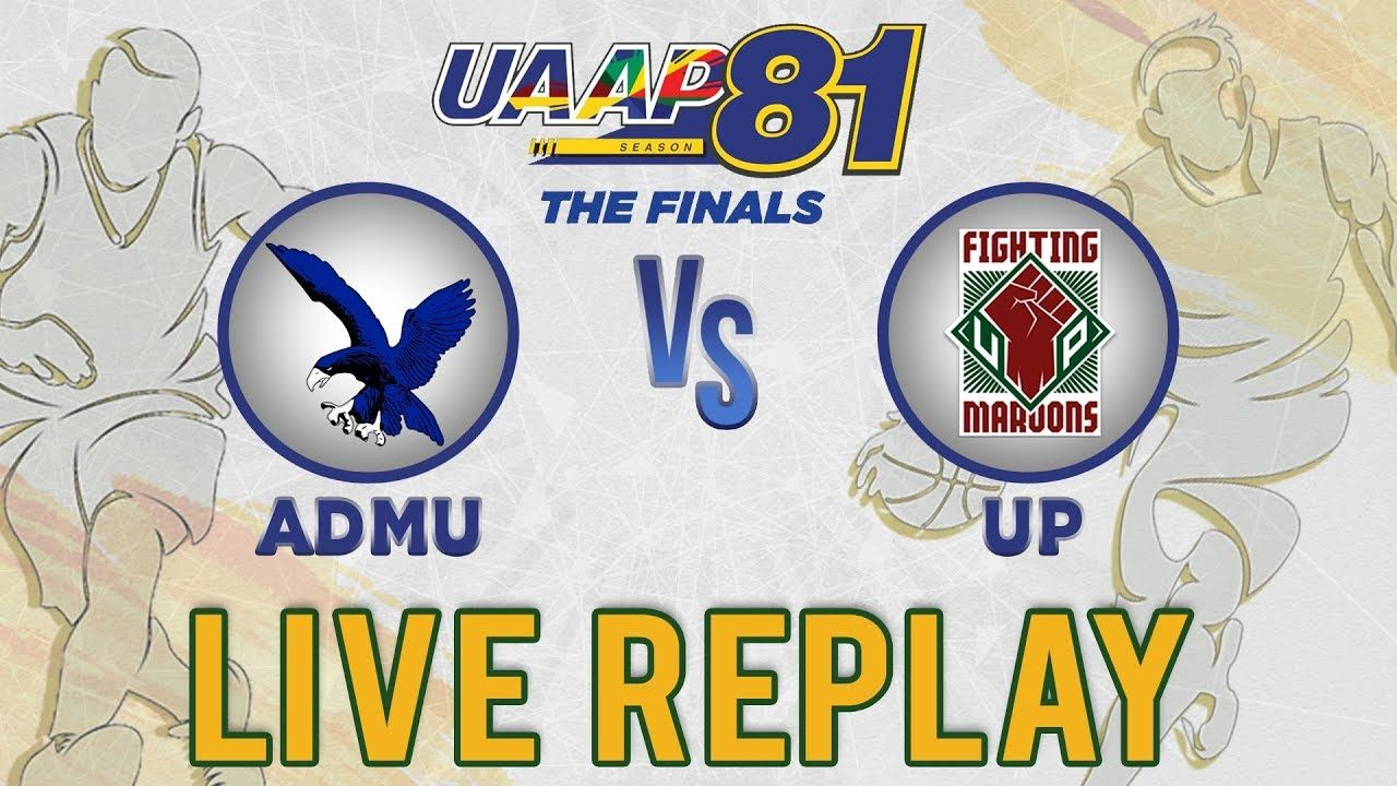UAAP 81 MB Replay Finals Game 1 ADMU vs. UP (With
