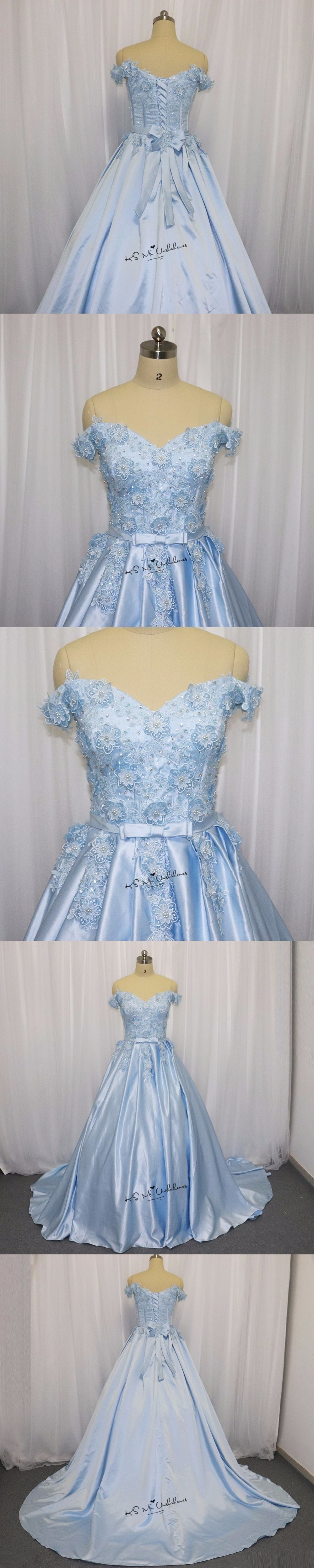 Plus size african wedding dresses  Ice Blue Wedding Dress Vintage Flowers Pearls Lace China Bridal