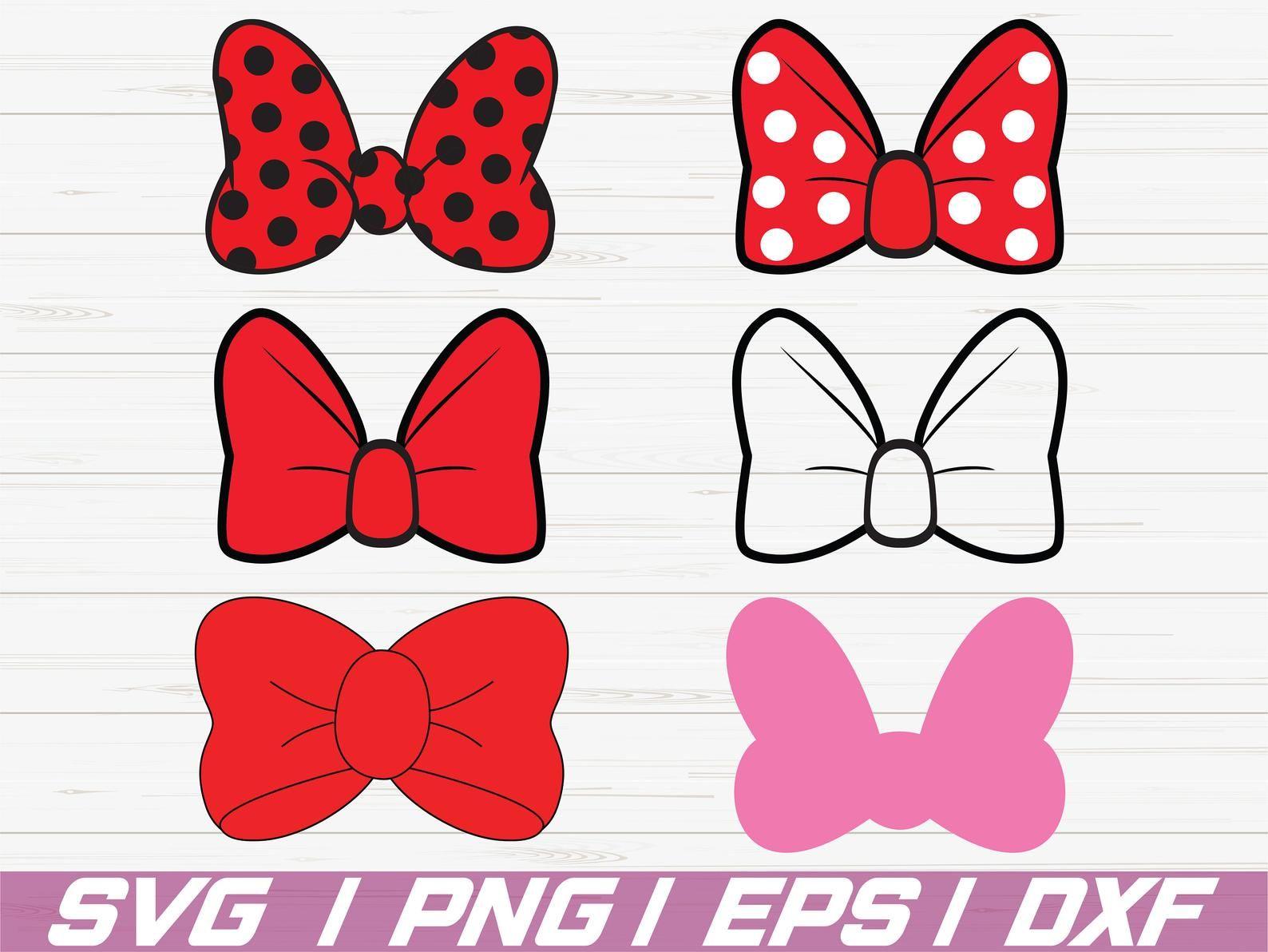 Minnie Mouse Bow Svg Disney Svg Minnie Polka Dots Bow Svg Etsy Minnie Mouse Bow Minnie Unique Items Products