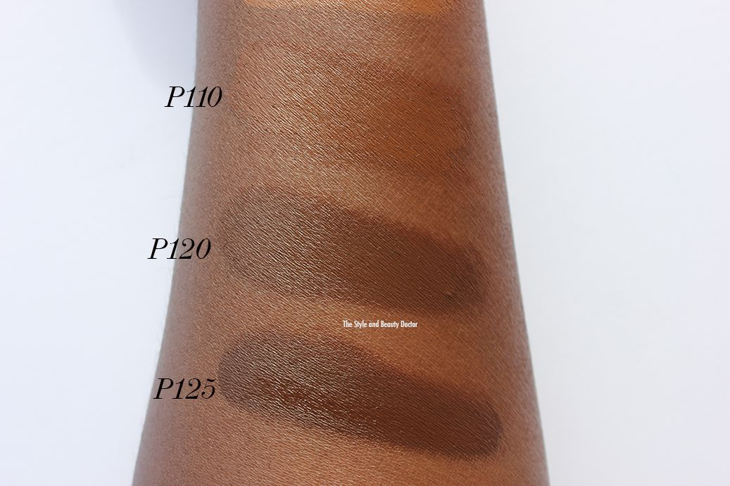 Cover Fx Total Cover Cream Foundation P110 P120 P125 Swatches Dark Skin Cover Fx Dark Makeup Total Cover