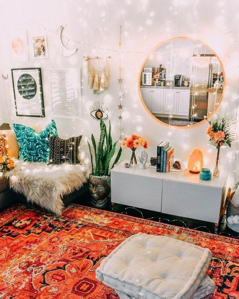 ✔59 cute dorm rooms we're obsessing over 24 » Interior Design #bohobedroom