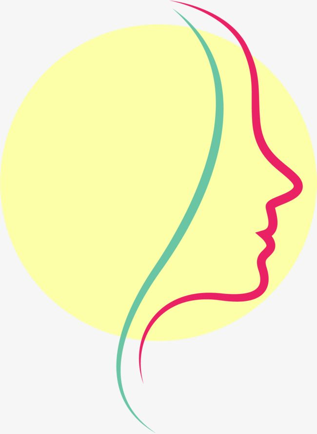 Women Face Beauty Makeup Yellow Icon Logo设计 Feminine Lines Beauty Logo Design Feminine Vector Lines Vector Logo Design Feminine Woman Face Beauty Logo Design