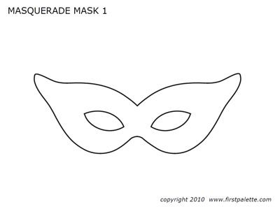 First palette female mardi gras mask templateg kid art first palette female mardi gras mask templateg pronofoot35fo Gallery