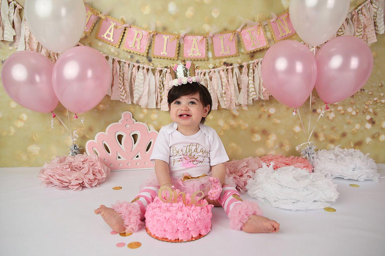 South Jersey Cake Smash Photographer Princesa