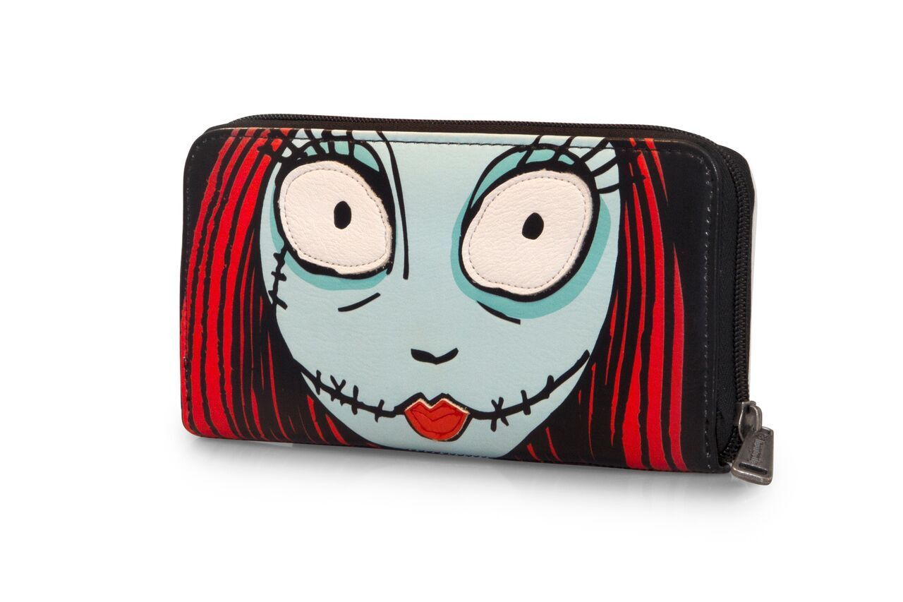 Disney The Nightmare Before Christmas Jack & Sally Large Face Wallet ...