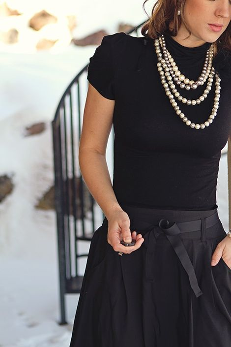 Alle schwarzen Outfits für Frauen #modefürfrauen