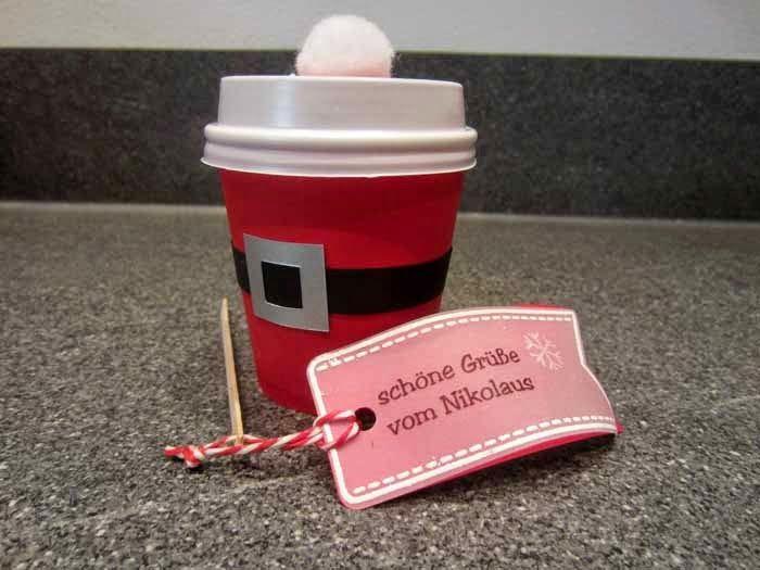 Das Bastelmonster: Der Nikolaus war schon da! #nikolausgeschenkkollegen