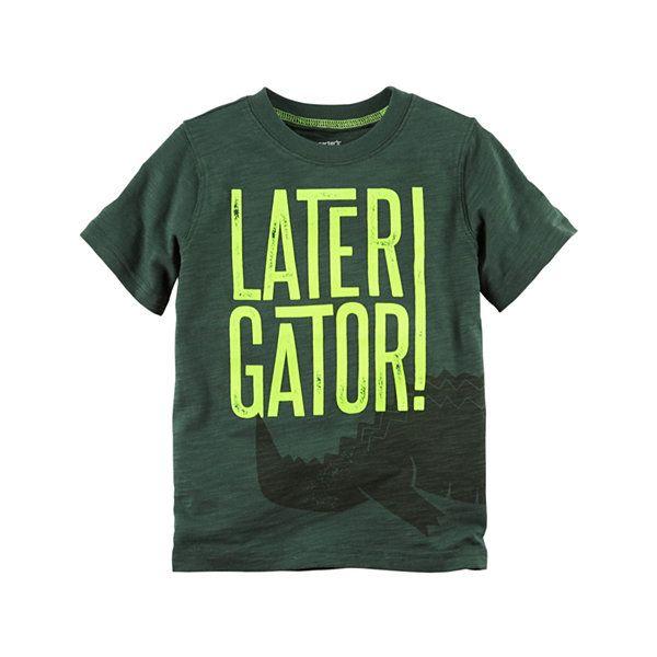 4a58f36a Carter's Graphic T-Shirt-Preschool Boys - JCPenney   Tshirts ...