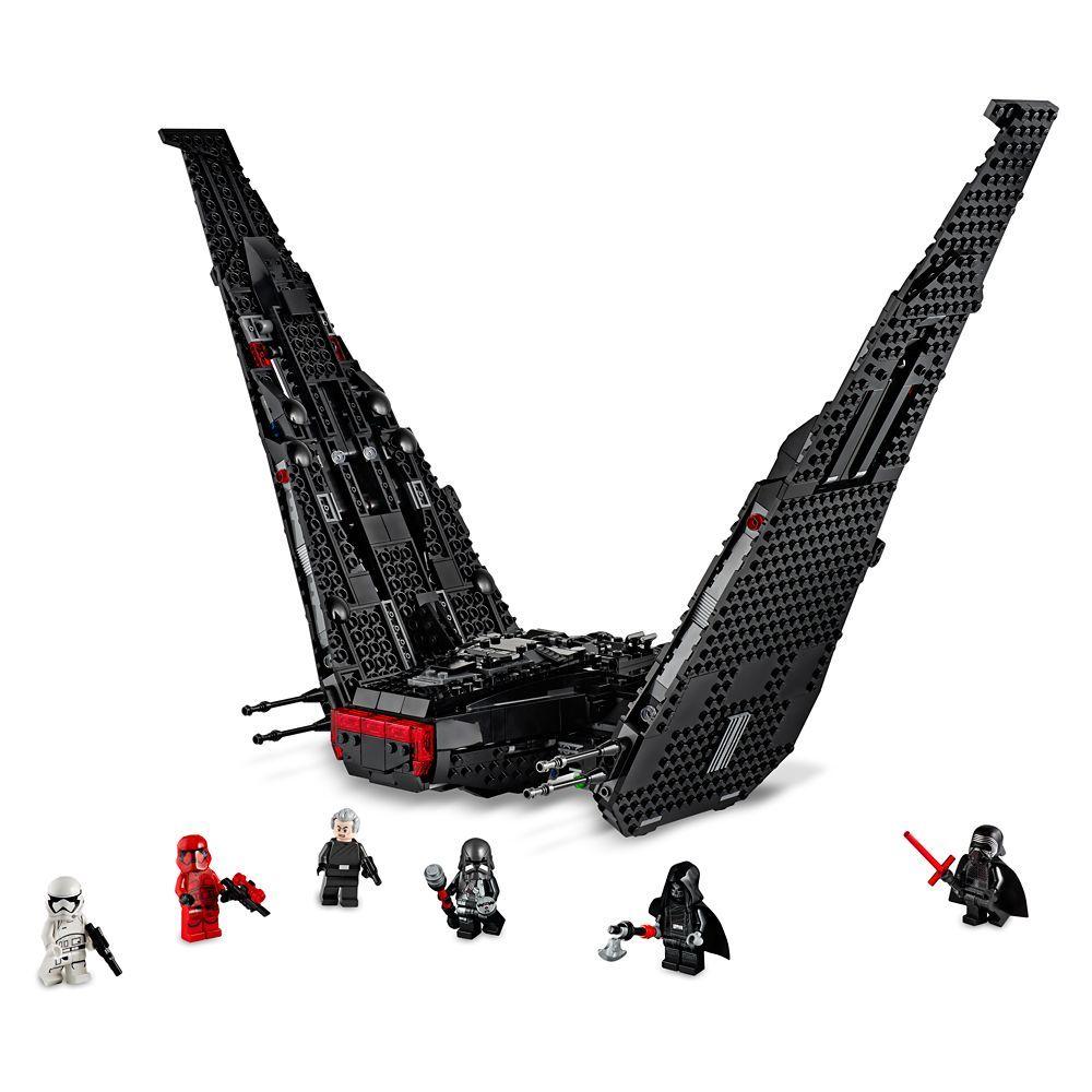 Lego Star Wars Kylo Ren S Shuttle Shopdisney In 2020 Lego Star Wars Sets Star Wars Kylo Ren Lego Star Wars