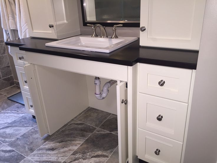 Image result for bathroom accessible vanities | Accessible ...