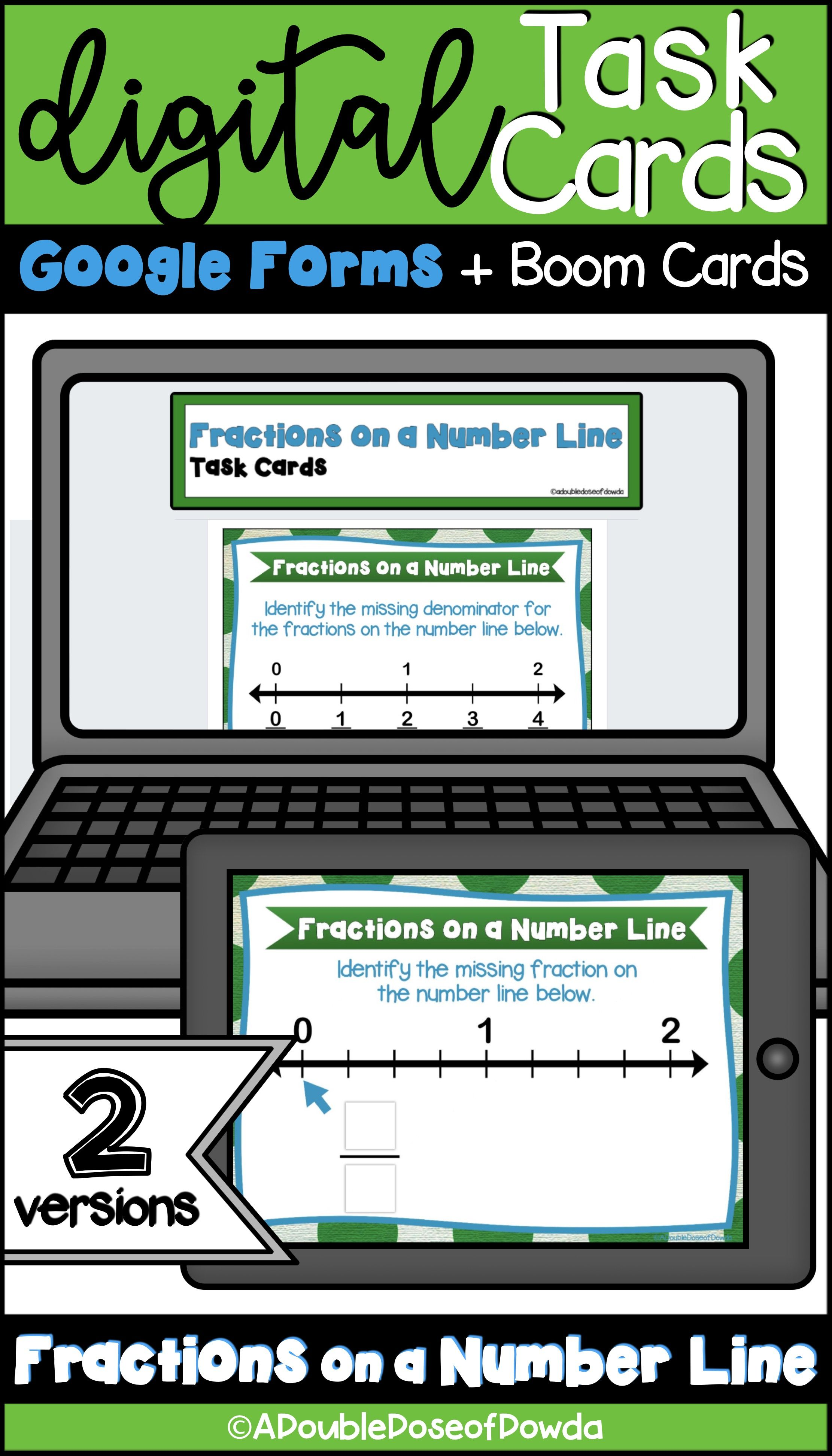 Let Students Practice With Fractions On A Number Line