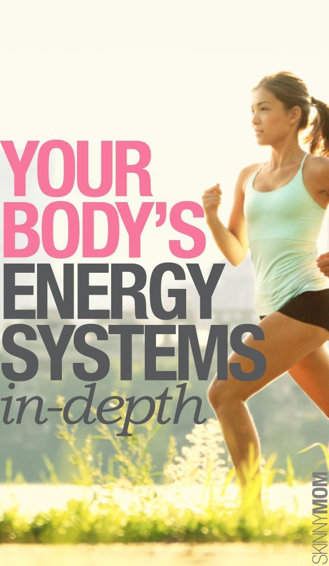 Here's your guide to your body's energy system.
