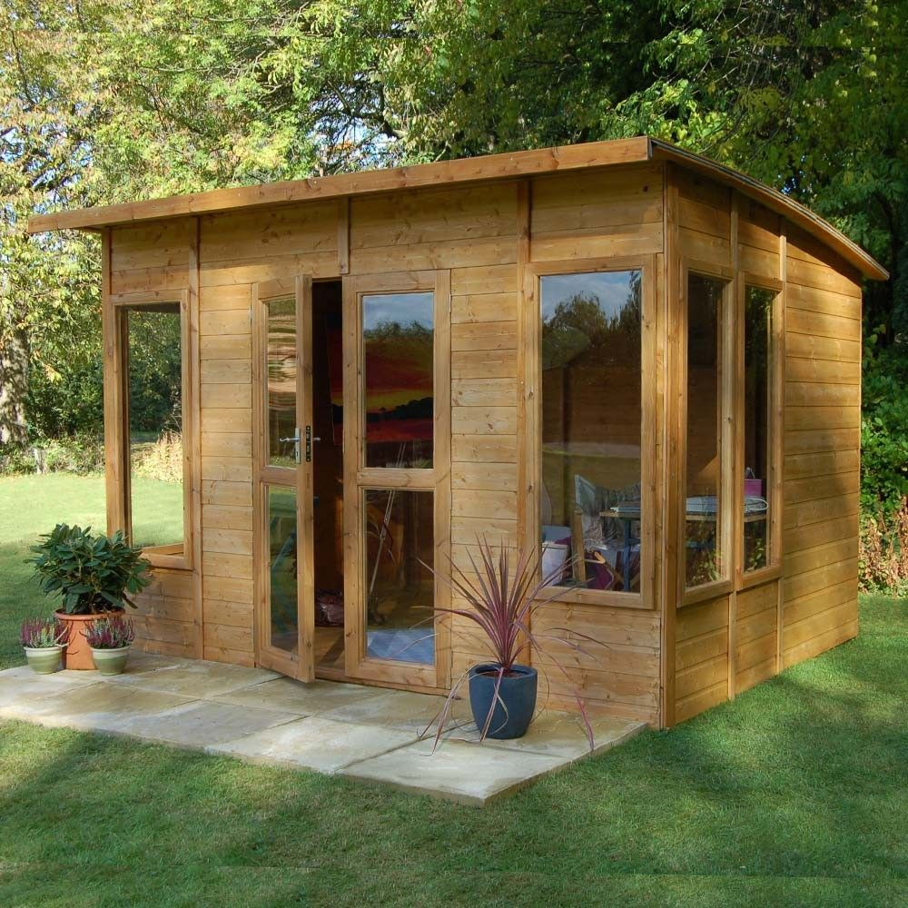 This would make a nicer yoga studio Summer house
