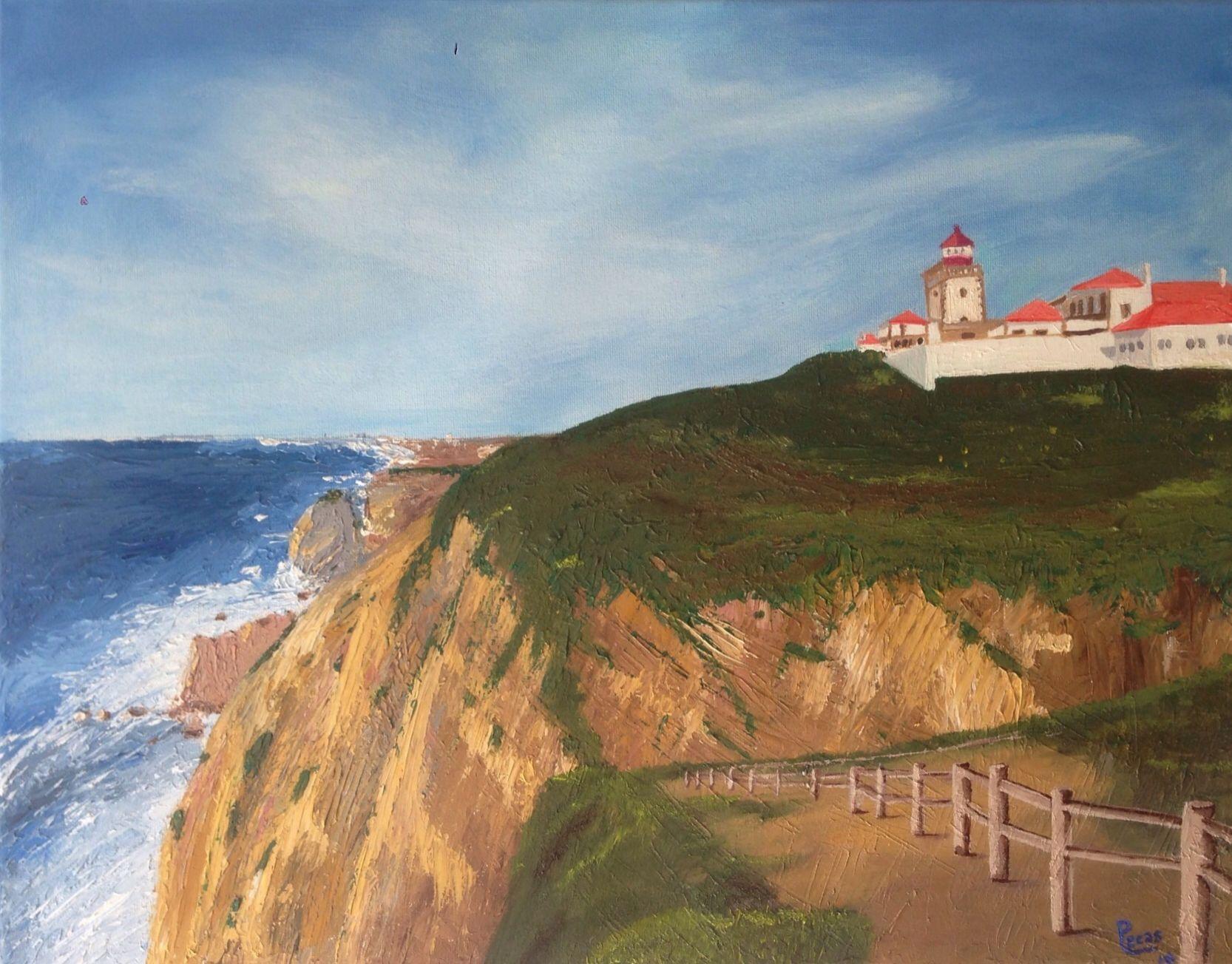 Cabo da roca pinturas pinterest cabo