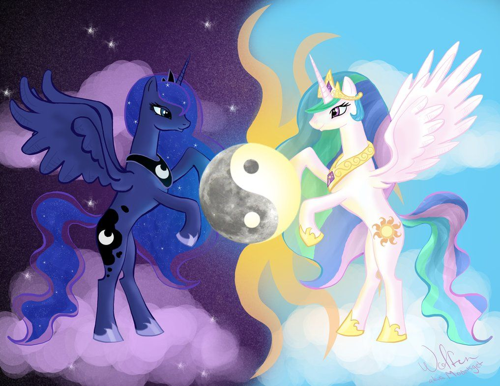 mlp celestia and luna parents - 1017×786