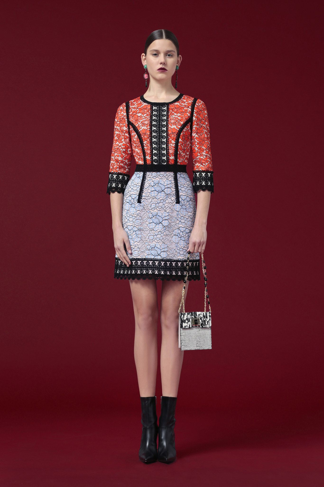 Andrew Gn Pre-Fall 2015 collection, runway looks, beauty
