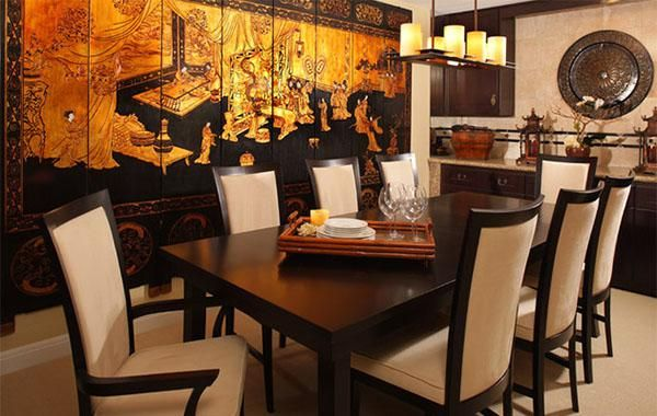 Furniture Asian Style Dining Room French Hiro Set Japanese Modern Glamorous Western Style Dining Room Sets Decorating Inspiration