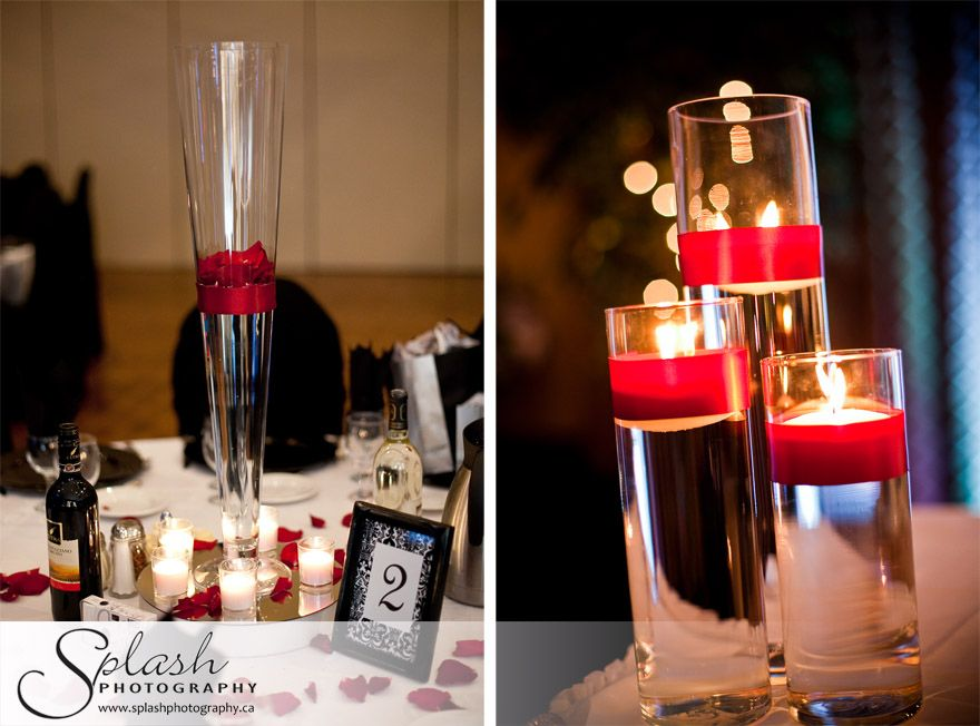 Delightful Red Wedding Reception Decoration Ideas Reference For Wedding Decoration Kb Black  Red White Decor Picture