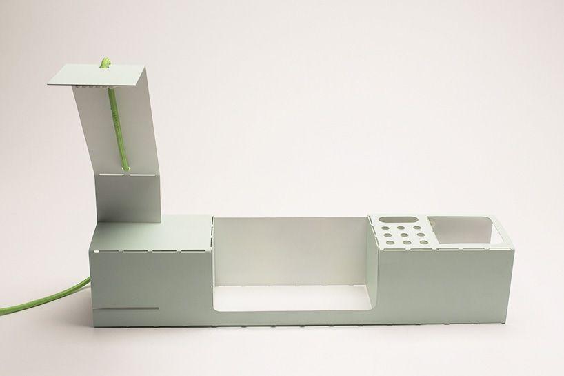 org laser cut desk organizer